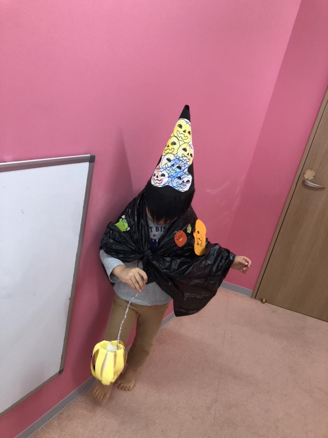【立川】ハロウィン制作を行いました!