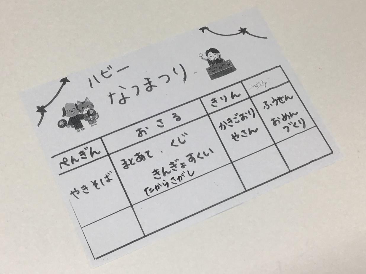 【本厚木】夏祭りイベント終了のご報告
