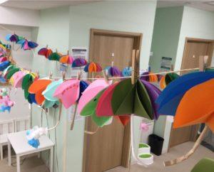 【藤沢】5~6月みんなの工作『傘&てるてる坊主』